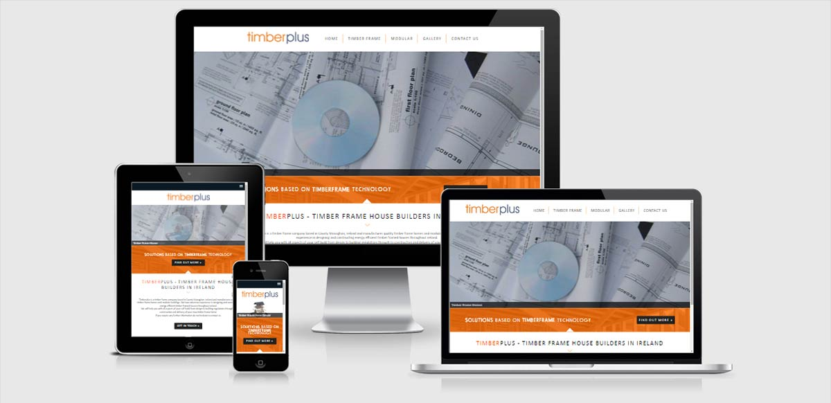 Timber plus concept ni web design northern ireland