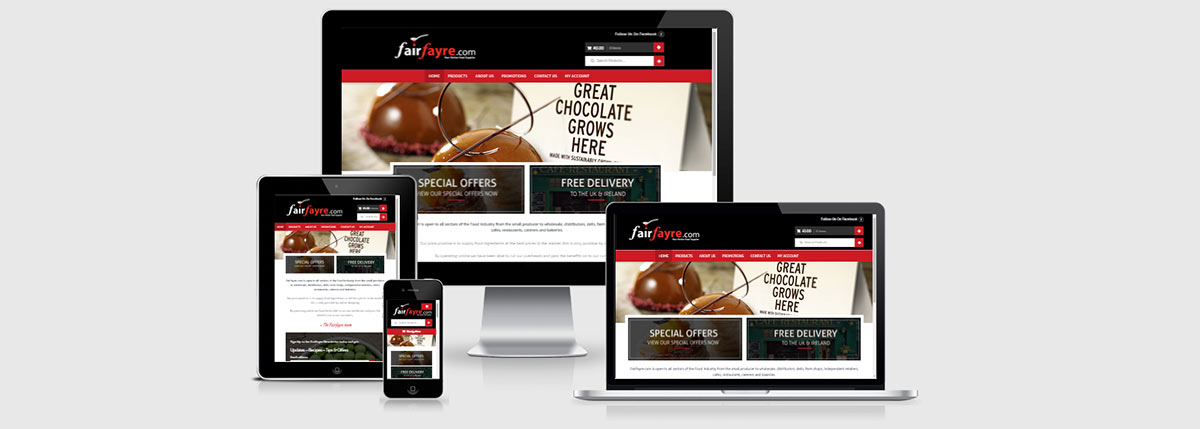 Fair Fayre, Online Food Supplier
