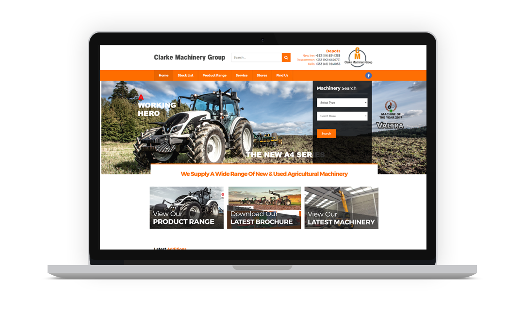 Clarke Machinery Group